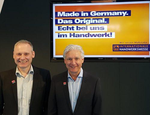 """""""Internet-Marketing im Handwerk"""" auf der Internationalen Handwerksmesse Bühne in München"""