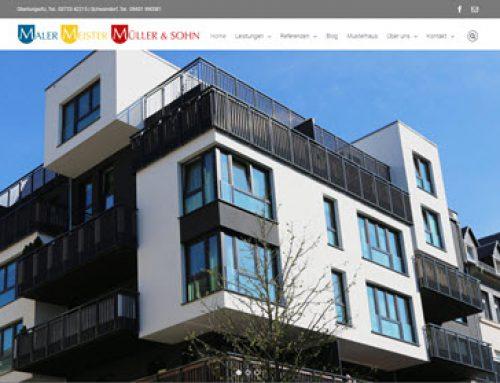Farben machen aus Räumen ein Zuhause: Mit der Internet-Erfolgsstrategie zur neuen Website von Malermeister Müller & Sohn