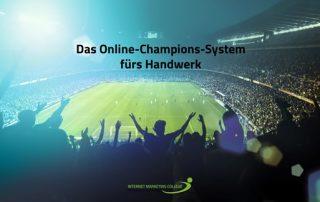 Online-Champions-System fürs Handwerk Workshop: