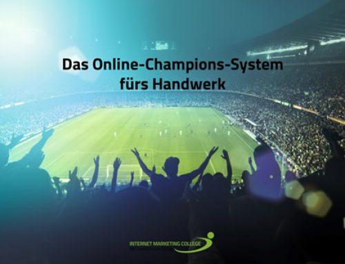 Gratis Workshop mit Thomas Issler: Das Online-Champions-System fürs Handwerk