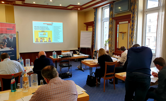 Erster Content Marketing Workshop in Wiesbaden