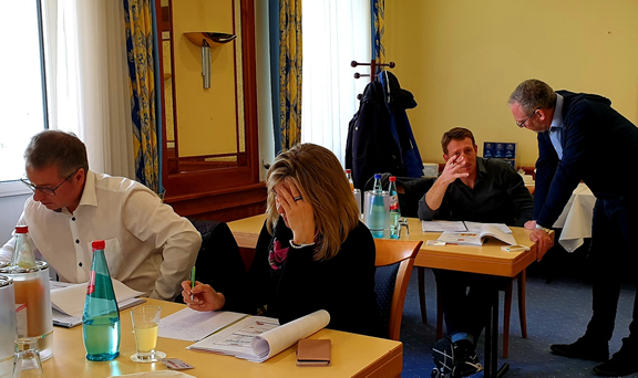 Teilnehmer Content Marketing Workshop in Wiesbaden